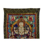 Image of Embroidery Tibetan Tara Buddha Thangka Art