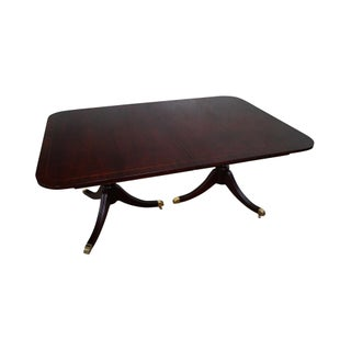 Kindel Federal Style Mahogany Dining Table