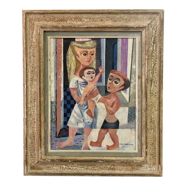 Howard Mandel '53 American Cubism - Image 1 of 7