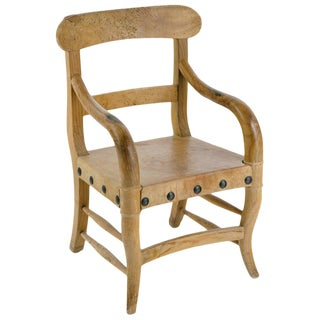 Rustic Michael Taylor Chair