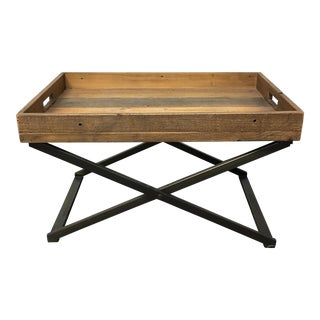 West Elm Low Butler Tray Coffee Table