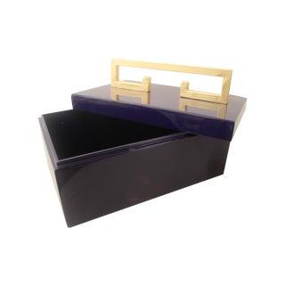 Small Greek Key Box
