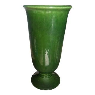 Mid-Century Modern Green Haeger Vase