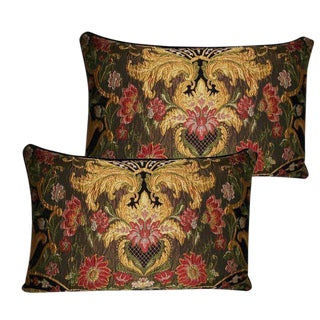 Aubusson Lampossa Tapestry Pillows - A Pair
