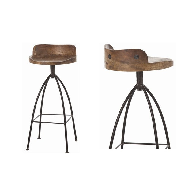 Arteriors Home Henson Counter Stools - Set of 4 - Image 3 of 7