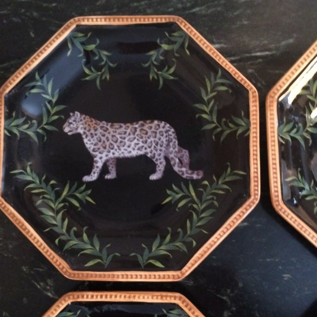 Decorative Decoupage Plates - Set of Four - Image 7 of 9