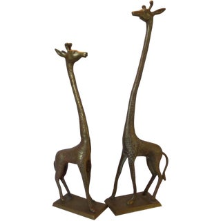 Mid-Century Giraffes - A Pair