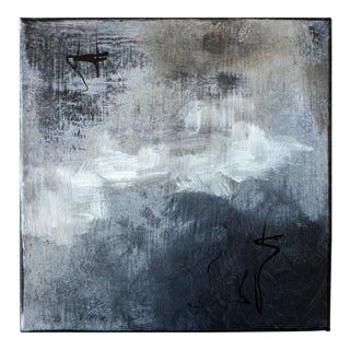 """Raven"" Original Modern Abstract Painting"