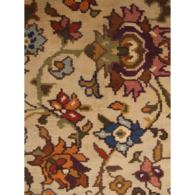 Bessarabian Room-Size Woven Kilim - Image 5 of 10