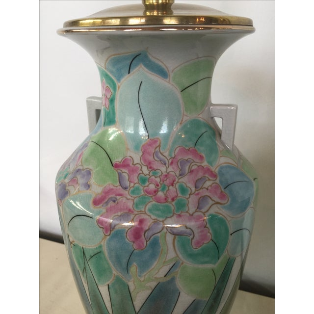 Chinoserie Hand Painted Fredrick Cooper Lamps - 2 - Image 4 of 9