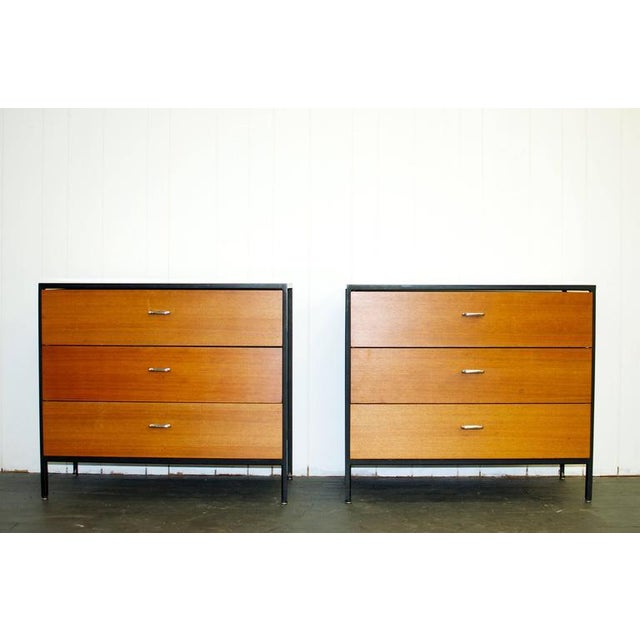 Pair of George Nelson Steel Frame Dressers - Image 3 of 7