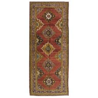 Vintage Turkish Oushak Rug - 5′1″ × 13′4″