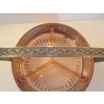 Image of Vintage Silver Plate Relish Basket