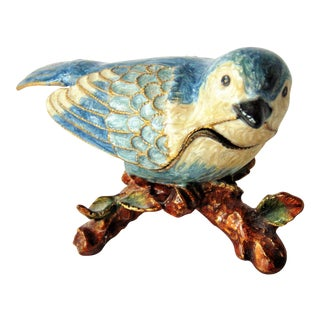 Bluebird Trinket Box