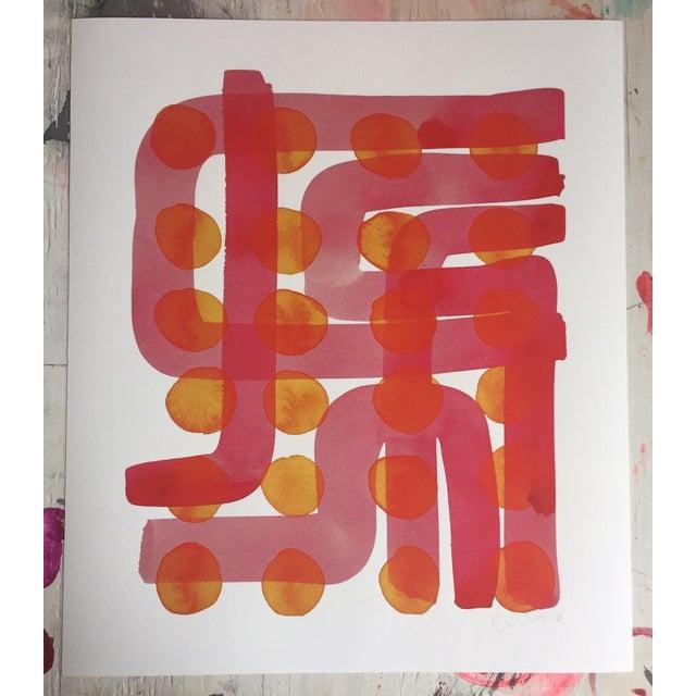 Kate Roebuck Polkadot Maze Two Print - Image 2 of 2