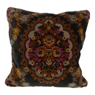 "Large Cut Velvet Pillow - 24"" x 24"""