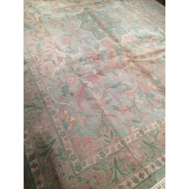 """Pasargad N Y Pastel Colors Tabriz Rug - 8'10"""" X 12' - Image 4 of 6"""