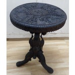 Image of Hand-Carved Table