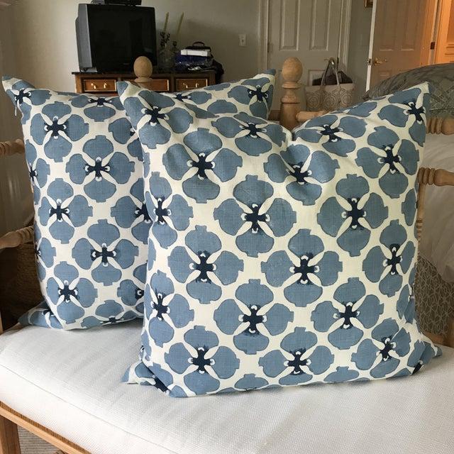 Galbraith and Paul Linen Pillows - A Pair - Image 8 of 8