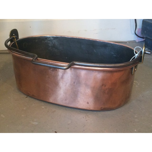 French Copper Pot - Image 2 of 3