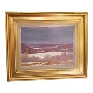 Tony Autorino Bucks County Impressionist Oil Painting