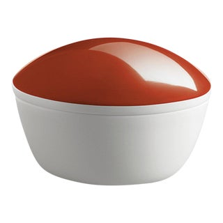 """Lola"" Porcelain Box Coral by Gottfried Palatin"
