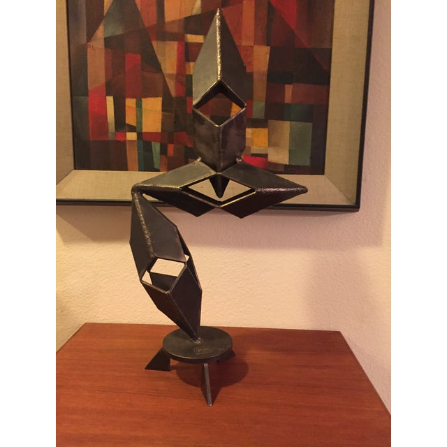 Mid-Century Modern Signed Sculpture - Image 5 of 11