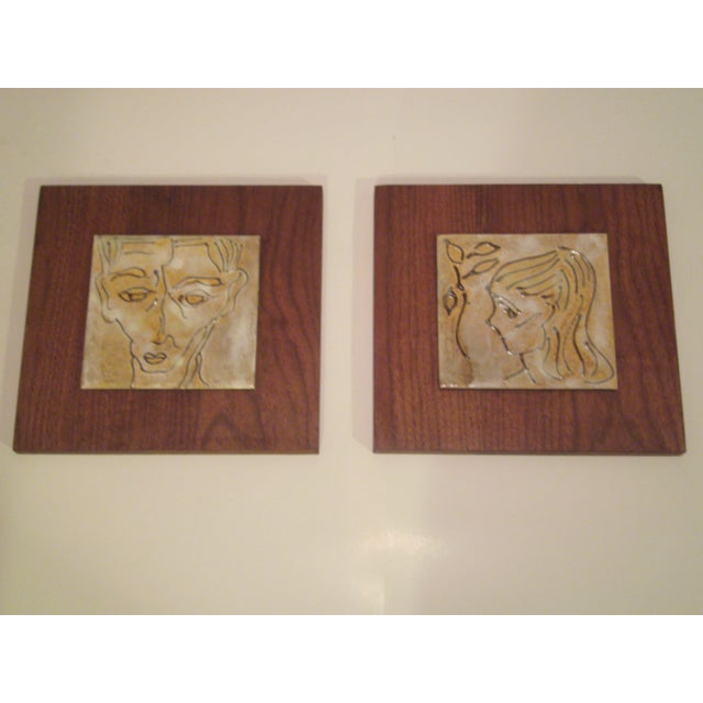 1950's Art Tiles by Harris B. Strong - Image 2 of 8