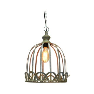 Vintage Antique Style Rustic Pendant Light - Small