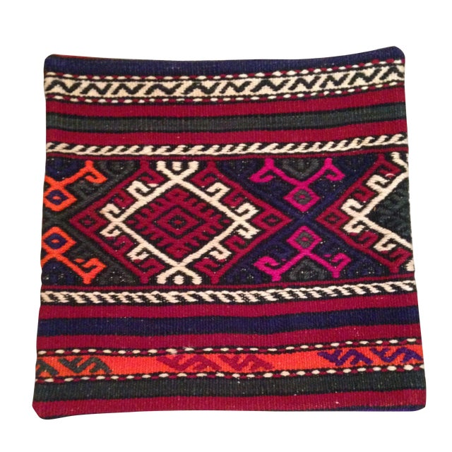 Vintage Kilim Pillow Cover - Image 1 of 5