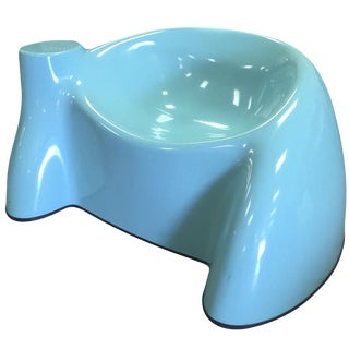 Wendell Castle Blue Fiberglass Chair