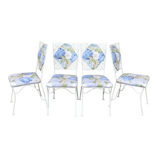 "Iron ""Garden Party"" Chairs - Set of 4"