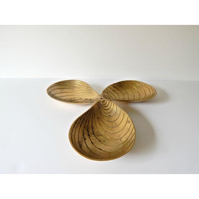 Brass Leaf Design Tray - Image 3 of 4