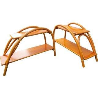 Ritts Co. Tropitan Bamboo Tables - A Pair