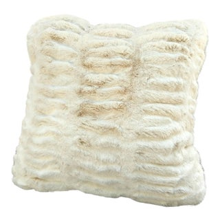 Modern Faux Fur Pillow