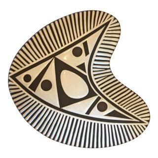 Danish Modern Ceramic Dish by Schollert