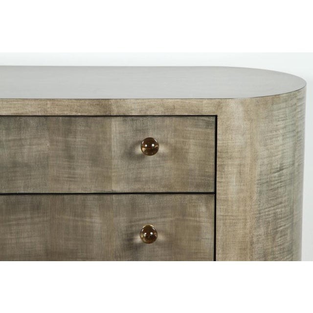 Image of Italian-Inspired 1970s Style Rounded Chest of Drawers