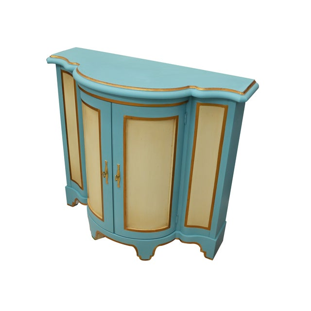 Image of Moroccan-Style Console Cabinet