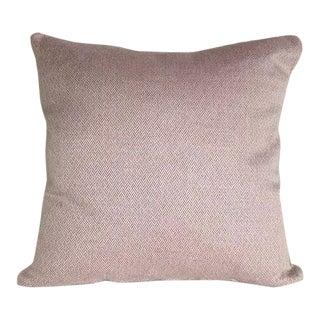 Kim Salmela Woven Lavender & Ivory Pillow