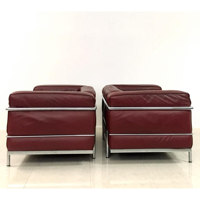 Image of Vintage Le Corbusier for Cassina Lc3 Grande Chairs