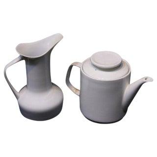Paul McCobb Coffee Mid Century Pot & Pitcher
