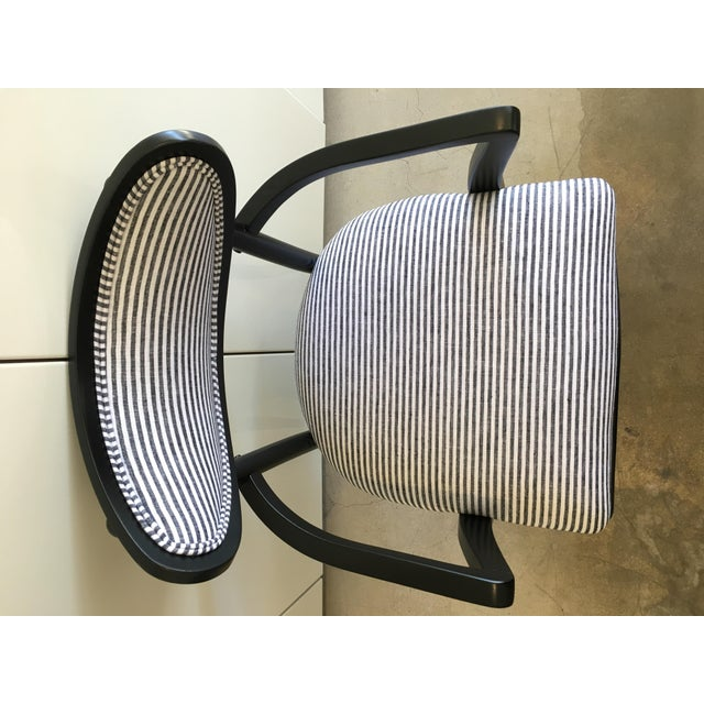 Mid-Century Crescent Back Dining Chairs - Set of 4 - Image 9 of 10