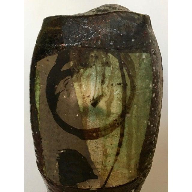 Image of Brutalist Art Pottery Vase