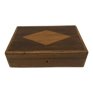 19th C. English Mahogany Box