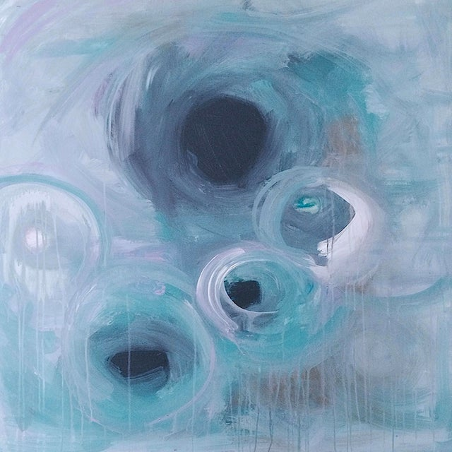 'MiRACLE' Original Abstract Painting - Image 1 of 5