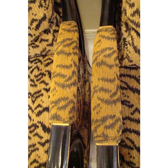 Ferguson Copeland Tiger Print Armchairs - a Pair - Image 9 of 9