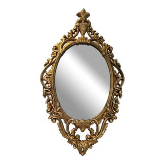 Burwood Products Gold Ornate Mirror
