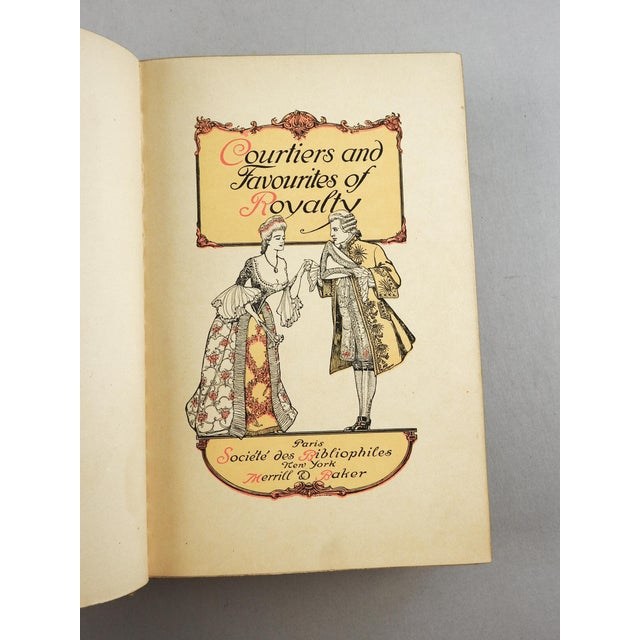 Courtiers and Favourites of Royalty, Memoirs of Talleyrand 2 Volumes - Image 3 of 7
