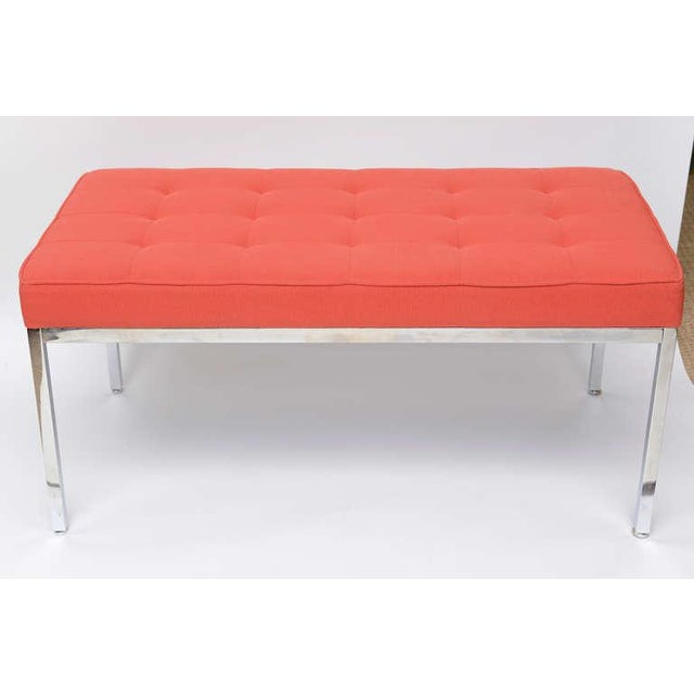 Image of Florence Knoll Stainless Steel Bench