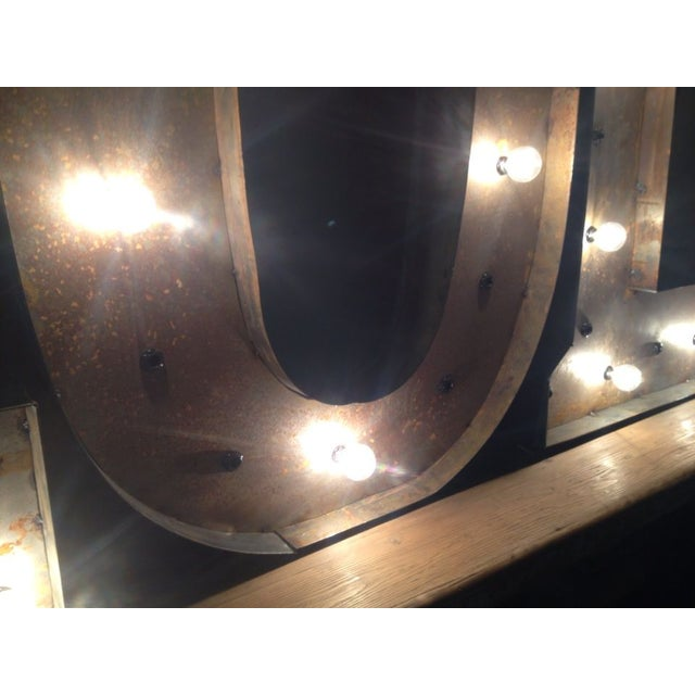"Industrial ""L.O.L"" Light Up Sign - Image 3 of 5"